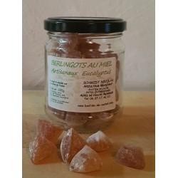 bonbons au miel et  eucalyptus
